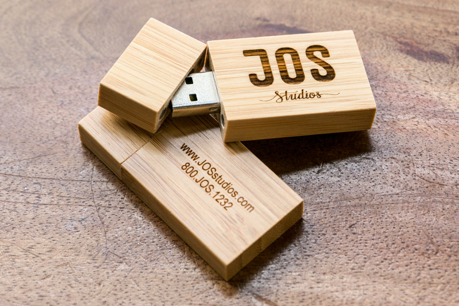 Flash Drive with High Resolution Images by JOS studios