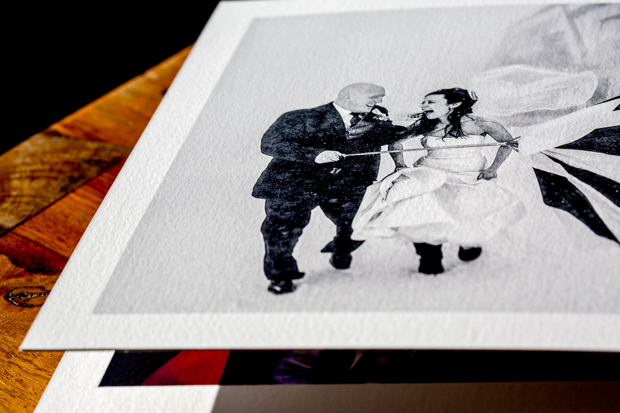 Beautiful Fine Art Wedding Album