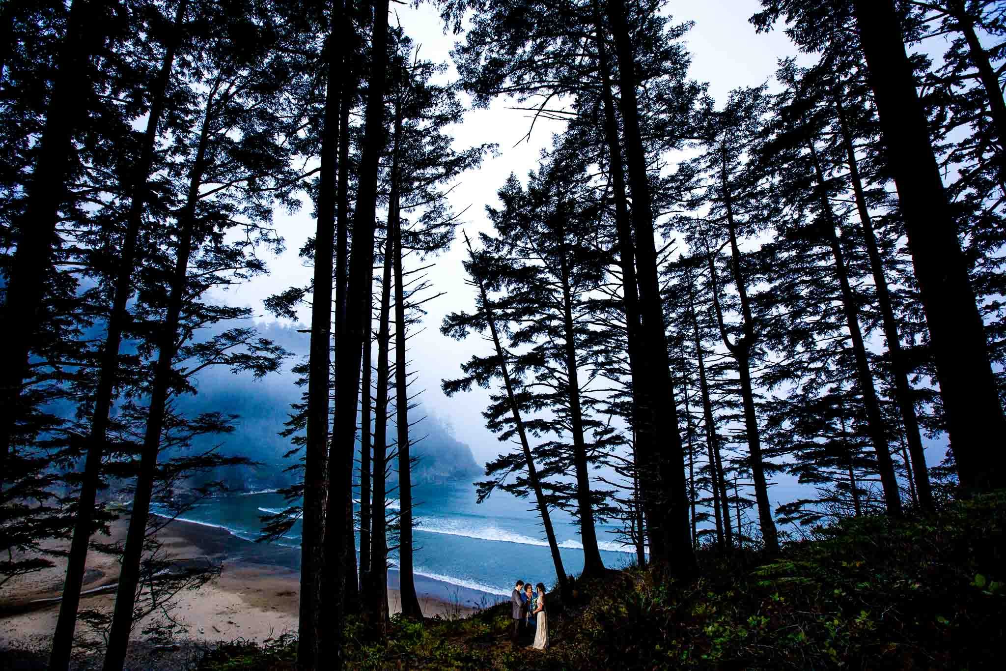 Private Elopement on Oregon Coast