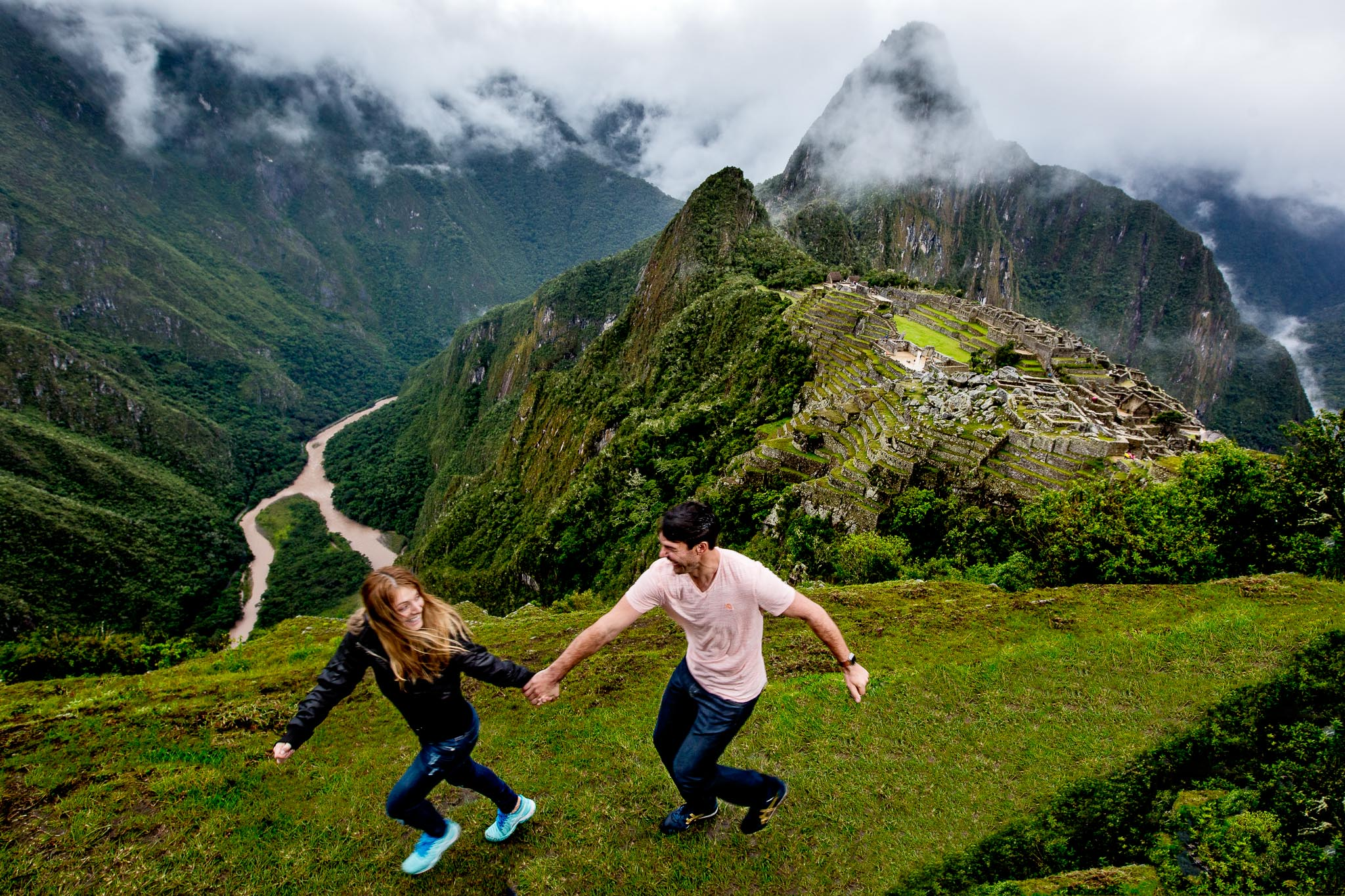 Machu Picchu Engagement Photo