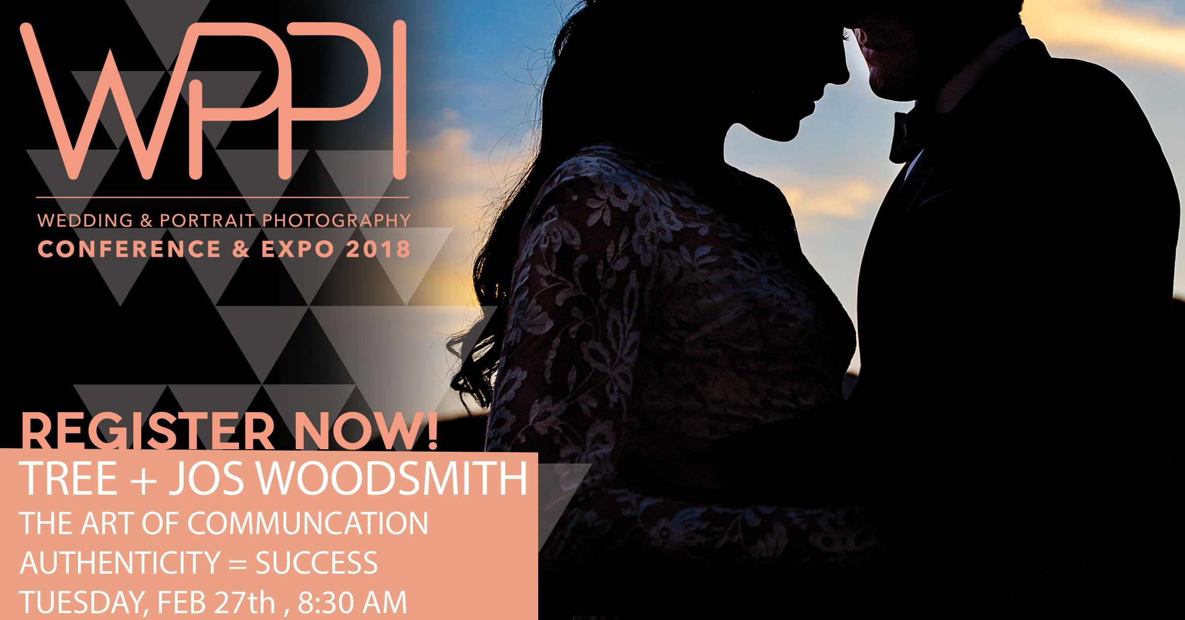 jos and tree speaking in vegas at WPPI