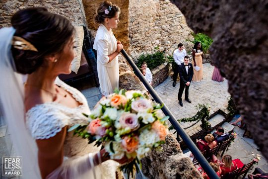 Fearless Photographers Award for a French Wedding by Jos WoodSmith